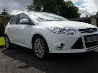 Ford Focus 2.0TDCi ( 163ps ) Powershift Titanium X automatic 61 plate white