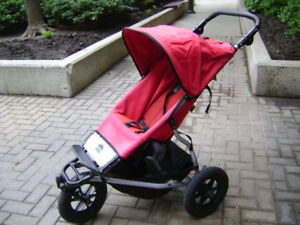 Mountain Buggy Urban jogging stroller in excellent condition