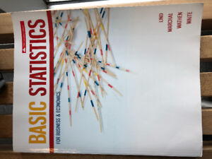 Basic Statistics For Business & Economics - 5th Canadian Edition