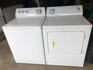 Inglis washer, 10 cycles  and heavy duty 5 cycle Dryer .