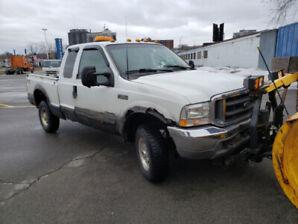 Ford f250 2002 lariat 4x4 210000km