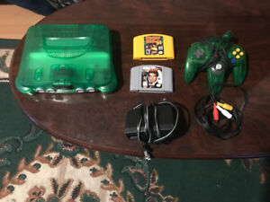 N64 with 2 games