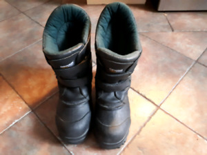 Polaris snowmobile boots sz 8
