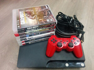 Playstation 3 (PS3) w/ Games
