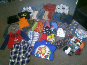 Toddler size 4T clothing LOT SALE 67 items $90