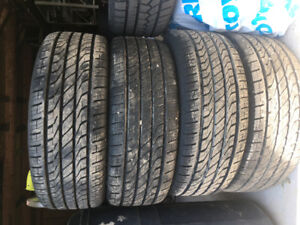 Brand new summer tires