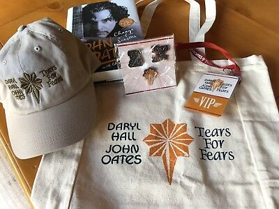 HALL & OATES / Tears for Fears 2017 VIP Tour Items - Cool gift for your rocker!