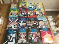 Family guy seasons 1to 16 dvd box sets a total of 46 dvds