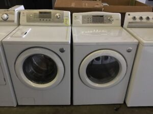 LG Tromm Washer and Dryer Set