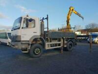 2003 03 Mercedes-Benz Atego 1823 AK 4x4 18000kg hiab lorry