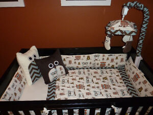 'Hooty' Crib Bedding and Accessories