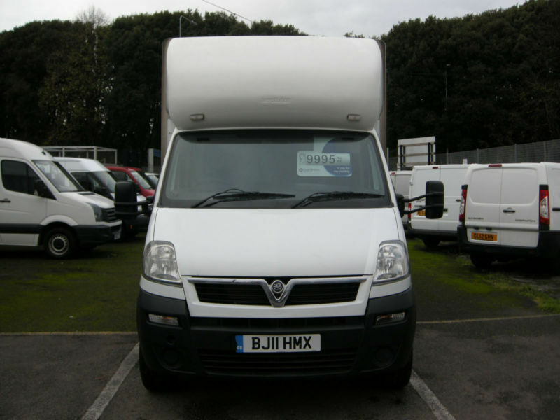 2011/11 VAUXHALL MOVANO 35T 2.5CDTI 120 LWB GRP 14FT LUTON TAIL/LIFT DIESEL