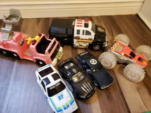 Toy car lot