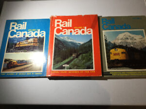 Rail Canada by Donald C Lewis 3 Vol Set CPR History BC Rail VIA