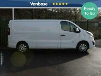 2017 Vauxhall Vivaro 2900 1.6CDTI 120PS Sportive H1 Long Wheelbase L2H1 Low Roof