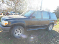1996 Ford Explorer 4X4 AS IS For Parts Only