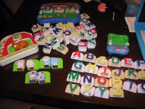 Leap frog alphabet and other leapfrog toys