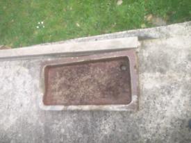 Stone garden planter trough butler sink