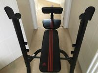 Adidas weights bench