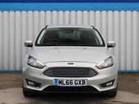 Ford Focus 1.5 Titanium Tdci 2016 (66) • from £56.51 pw