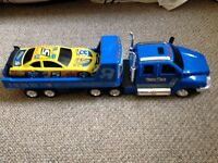 Large Toys R Us Lorry With A Car On The Back