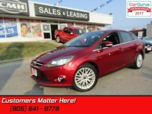 2013 Ford Focus Titanium  NAVI, CAMERA, ROOF, HEATED LEATHER SEA
