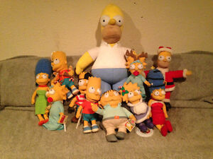 Simpsons collectible plush toys! Prince George British Columbia image 1