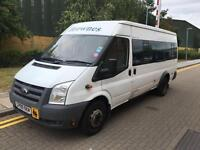 2009 Ford TRANSIT 140 T430 17S RWD 17 SEATER MINI BUS **AIR CON** Manual Minibus