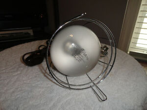 GE Sunlamp with 275W Bulb & Clamp