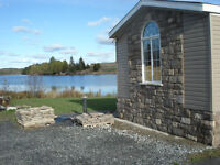 WATERFRONT home on 1.33ac and 1180sq,ft one level floor