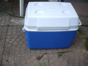 Ice bucket or carrier for camps, picnics, vacations, parties etc