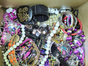 3+ Pounds mixed jewerly lot and watch parts lot