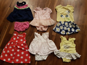 Box of 3-6 Month Clothes - Girl
