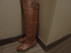 New  Over the Knee Leather Boots for Spring  - Never Worn