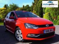 2016 Volkswagen Polo 1.0 75 SE 5dr Manual Petrol Hatchback