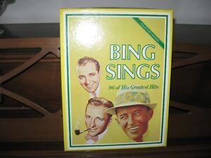 bing crosby collection 4-8 track recordings 96hits/never played