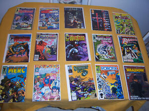 100 assorted comics  $110