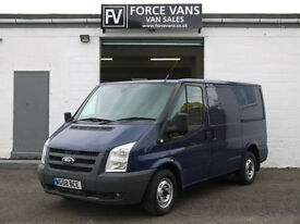 FORD TRANSIT T280 140 SWB LOW EX POLICE UNDERCOVER WORK PANEL DAY CAMPER VAN