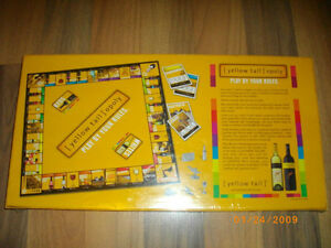 Factory Sealed-Yellow Tail opoly-2009-Hard to find-Wine Monopoly London Ontario image 2