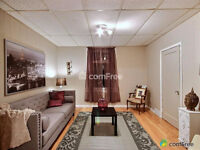 2 bedroom; main floor unit with secure separate entrance.