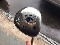 Callaway big bertha Hawkeye driver. 10 degree Regular shaft. Very good Condition