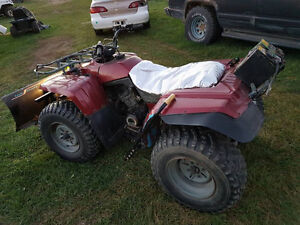 Yamaha Bigbear 4x4 with or without snow plow