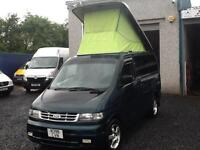 Ford Freda 2.5 diesel automatic camper auto free top 1995 n reg With rock an bed