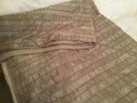 Mocha coloured bedspread