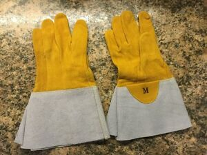 New All Leather Work Gloves