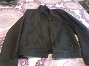 Motorcycle denim jacket