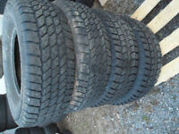"""4- 31"""" x10.50x15"""" tires for sale ."""