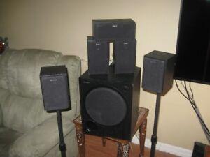 SONY SURROUND SOUND SPEAKER SET