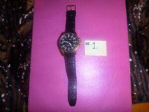 NEW MENS WATCHES X 3:DIESEL, JACQUES LEMANS, NO NAME