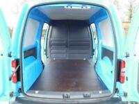 VW VOLKSWAGEN CADDY MAXI STARTLINE VAN 2015 AIR CON LWB L2 FULL S/H 102 BHP VGC